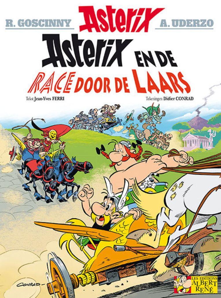 Asterix cover Beeld Vrij van copyright