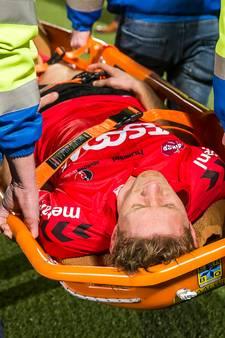 Robert Braber verwacht op tijd fit te zijn voor play-offs Helmond Sport