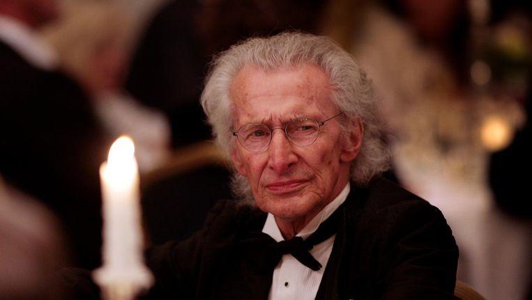 Auteur Harry Mulisch in 2009 Beeld null