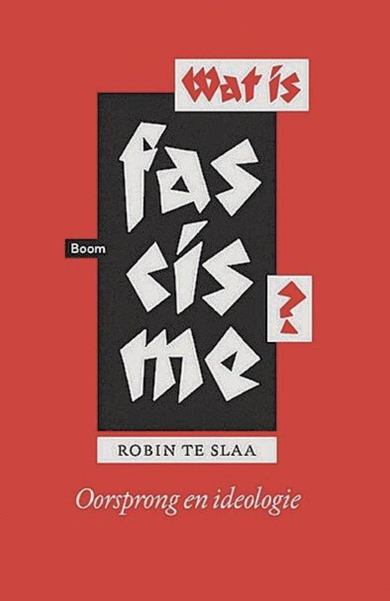 Robin te Slaa, 'Wat is fascisme? Oorsprong en ideologie', Boom, 327 p., 24,90 euro.<br /> Beeld RV