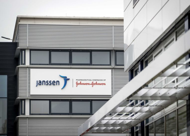 Een kantoor van het farmaceutische bedrijf Janssen. Beeld ANP