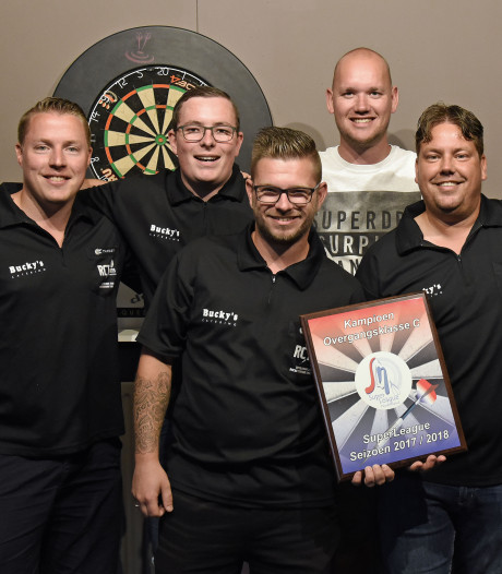 Zeeuwse darters via Duitsland naar toernooi in Engeland