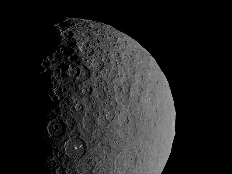 De dwergplaneet Ceres. Beeld via REUTERS