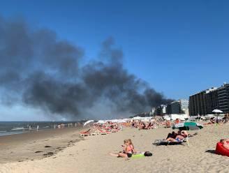 Zware brand in appartementsgebouw in Blankenberge: bewoners kunnen tijdig ontkomen