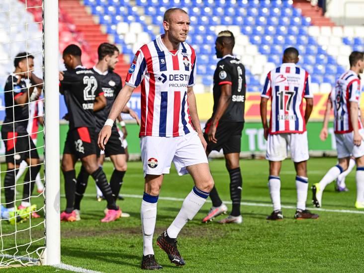 Willem II in eigen huis kansloos ten onder tegen PSV