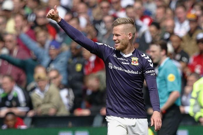 Jules Reimerink bezorgde de Eagles een historische overwinning in De Kuip.