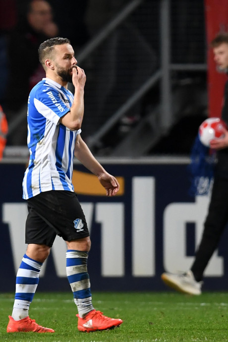 FC Eindhoven voelt zich bestolen: 'Onvoorstelbaar dat je daarvoor een penalty geeft'