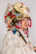 Model: Krab HarryLocatie: Bergen op Zoom/ 't KrabbegatPortret van een Krab uit 't Krabbegat tijdens de Vastenavond 2018. Portrettenserie van Jildiz Kaptein. Vastenavend in Krabbegat.