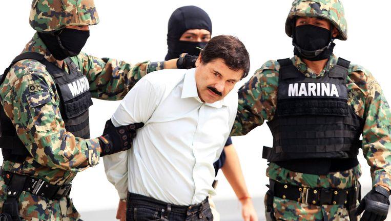 'El Chapo' wordt ingerekend. Beeld EPA