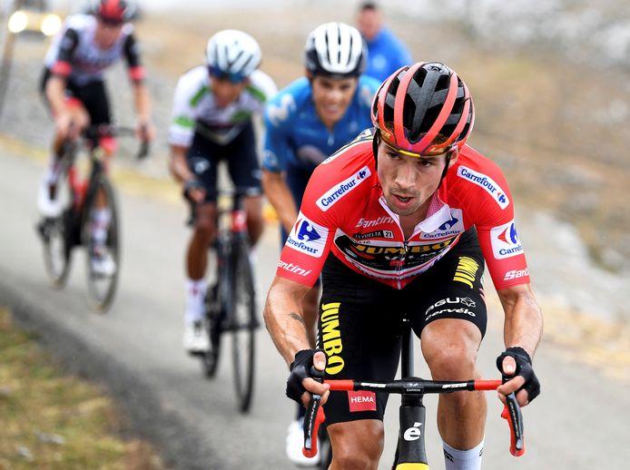 Primoz Roglic heerst in de Vuelta