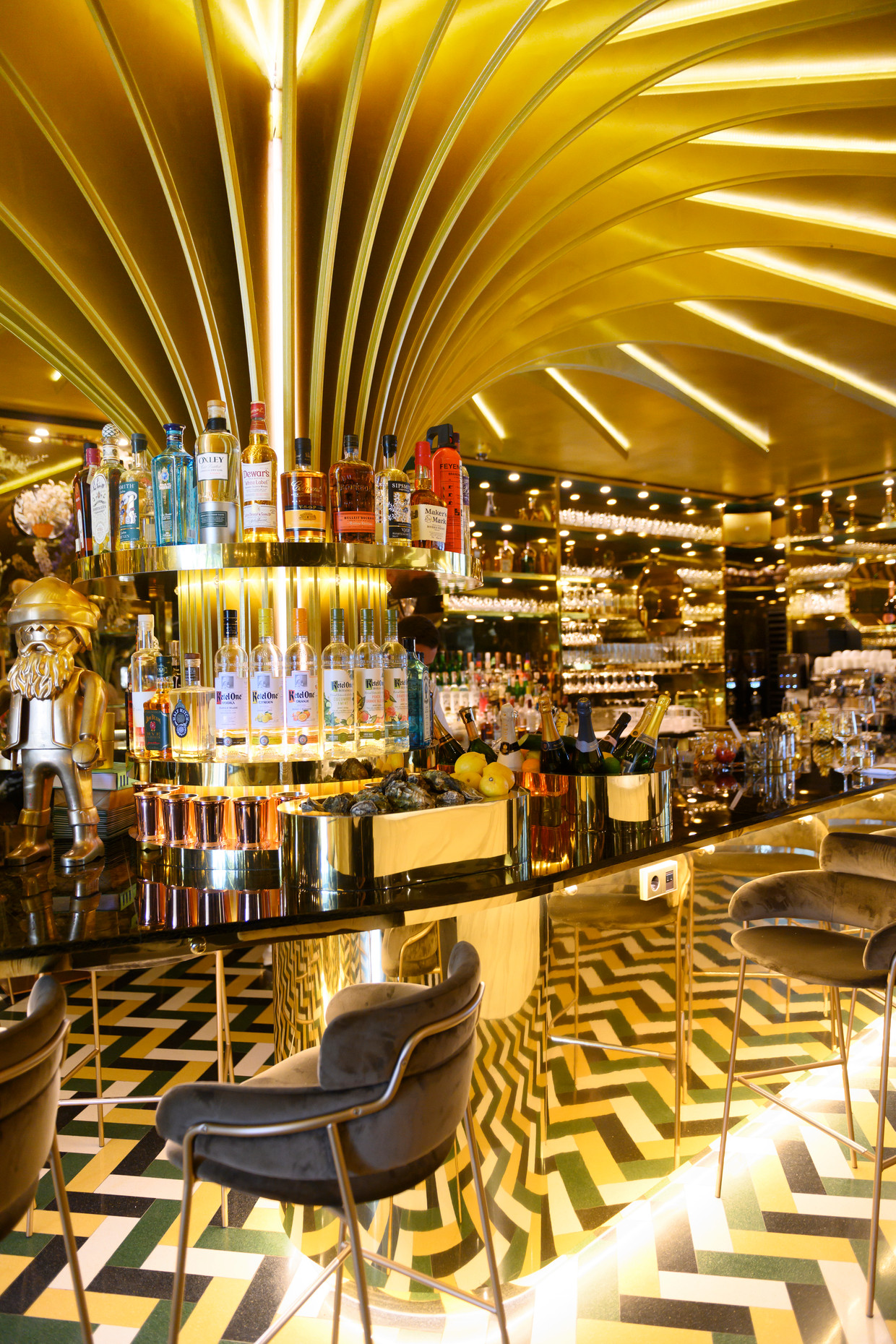 Restaurant Goud in Rotterdam.