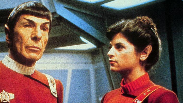 Leonard Nimoy als Mister Spock. Beeld anp