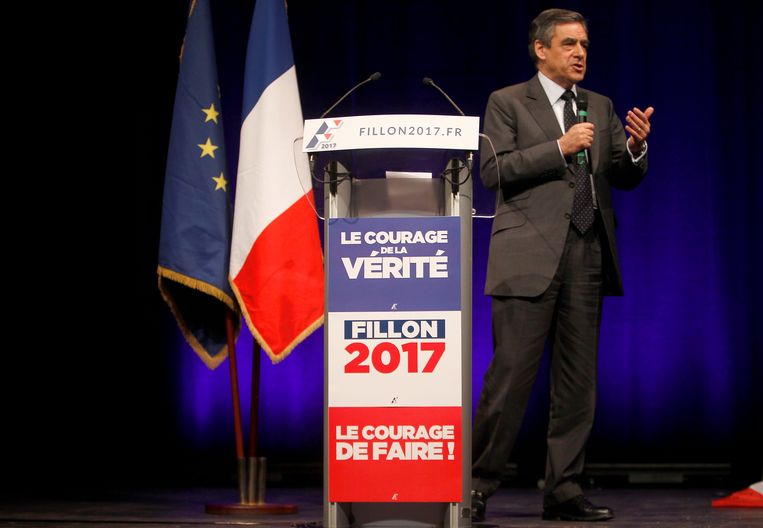 François Fillon. Beeld AP
