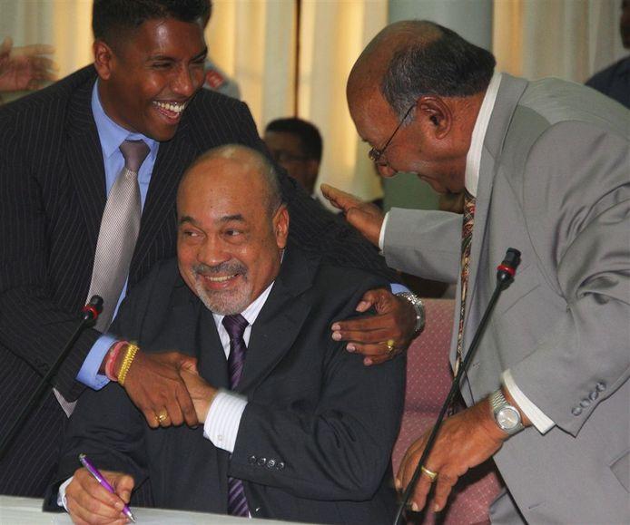(Archieffoto 2010). Desi Bouterse. ANP
