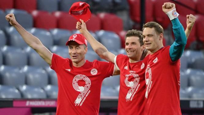 Bayern feest: eerst zeker van titel na verlies Leipzig in Dortmund, dan galamatch met hattrick Lewandowski