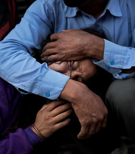Kledingactie voor Nepalezen