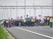 Grensovergang op A16 bij Hazeldonk enige tijd geblokkeerd door Armeense demonstranten