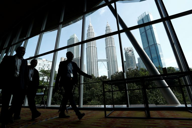 De Petronas Twin Towers in Maleisië Beeld REUTERS