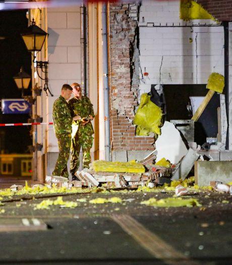 Enorme ravage na plofkraak bij station Apeldoorn: bewoners schrikken wakker van harde knallen