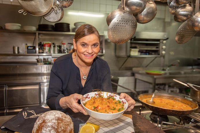 Marja van Dijke van restaurant Hof van Holland.