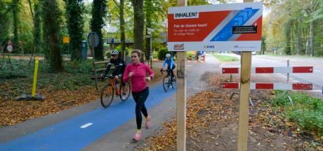 Splinternieuw fietspad in Doorn niet knalrood maar smurfenblauw: dit is waarom