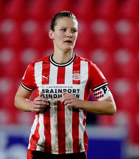 Mandy van den Berg blikt vooruit op PSV-Barcelona:  'We moeten op ons allerbest zijn'