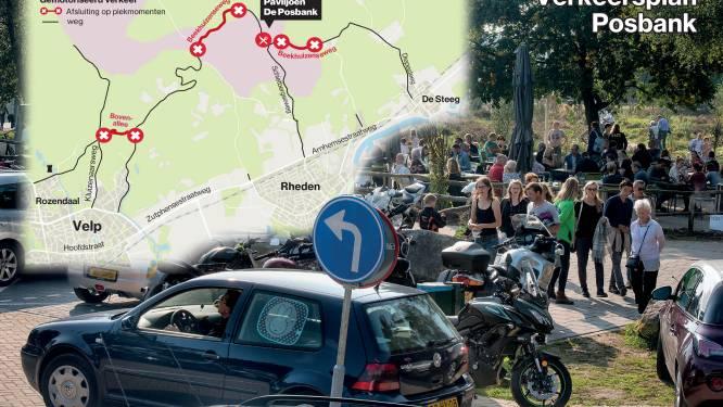 Rondje Posbank wordt zeven maanden per jaar in het weekend onmogelijk, maar de auto blijft welkom
