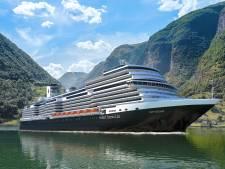 Dit nieuwe cruiseschip arriveert vandaag voor het eerst in hartje Rotterdam (en zo laat vaart het bij jou langs)