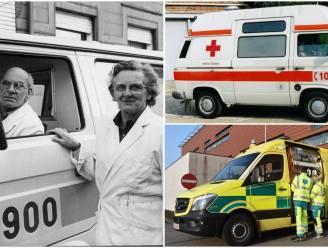 """Ambulancedienst Rode Kruis Tielt blaast 35 kaarsjes uit: """"Van 900 naar 100 naar 112"""""""