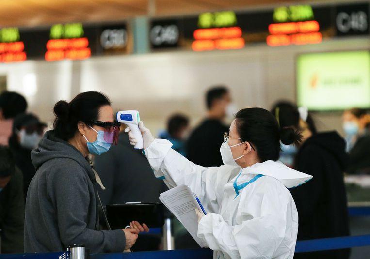 Amerikaanse luchtvaartmaatschappijen hebben maandenlang druk gelobbyd in Washington om de reisbeperkingen snel afgeschaft te krijgen. Die pogingen zijn tot dusver vergeefs. Beeld AFP
