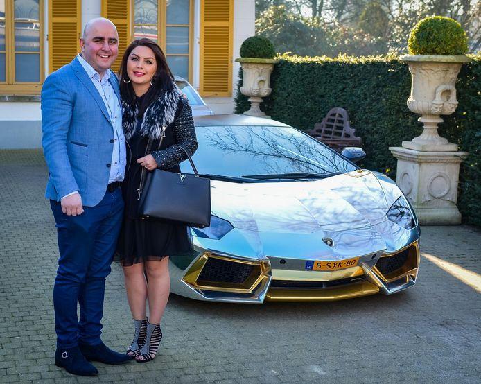 Sasan Azimi en zijn vrouw Ziba Sharbati