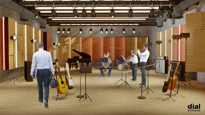 Muziekcentrum krijgt repetitiezaal in kelder, voor orkesten en grote gezelschappen