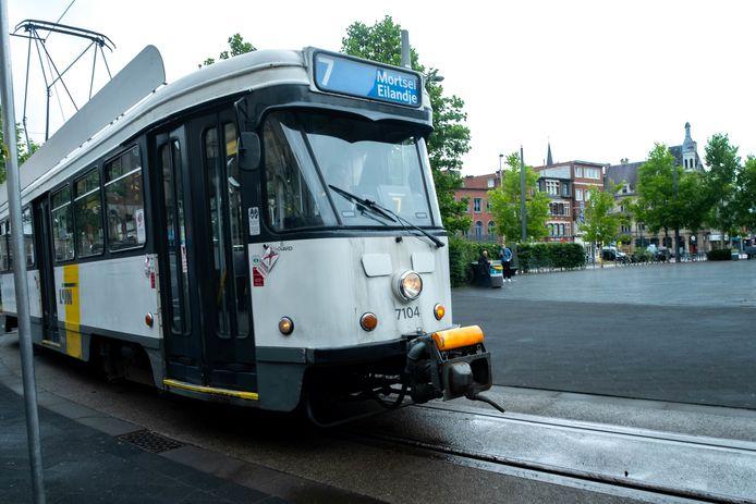 Tram 7 zou in het nieuwe vervoersplan niet meer naar Mortsel rijden. Die beslissing wordt nu on hold gezet.