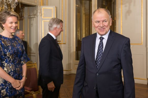 Vytenis Andriukaitis was dit jaar nog op bezoek bij koning Filip en koningin Mathilde.