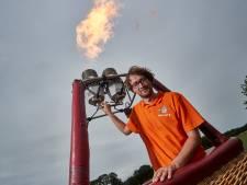 Wereldkampioen ballonvaren Roy uit Exel leest als geen ander de wind: 'In de lucht heb ik amper stress'