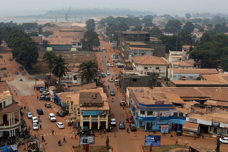 Banganui, de hoofdstad van de Centraal-Afrikaanse Republiek.  Beeld REUTERS