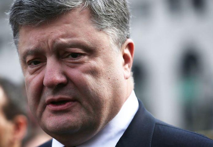 Petro Porosjenko, de president van Oekraïne.