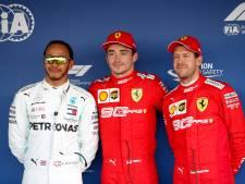 Hamilton over hiërarchie Ferrari: 'Niet Vettel, maar Leclerc is daar de kopman'