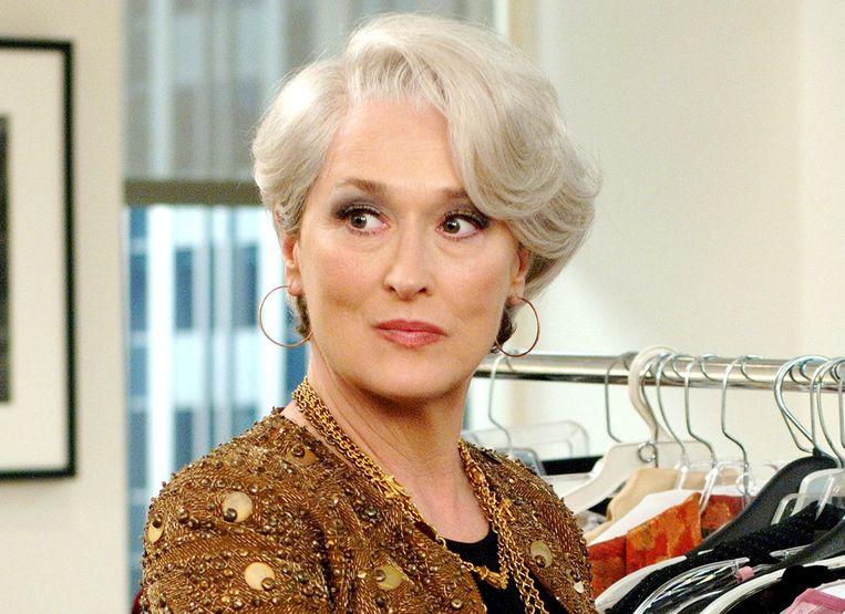 Meryl Streep in 'The Devil Wears Prada'. Beeld EPA