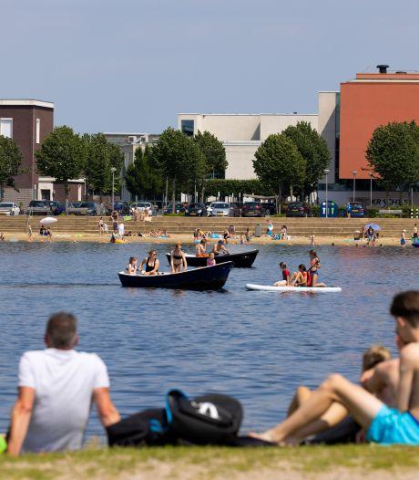 De Groote Wielenplas in Rosmalen: 'Chic, een strandje zo dichtbij huis'