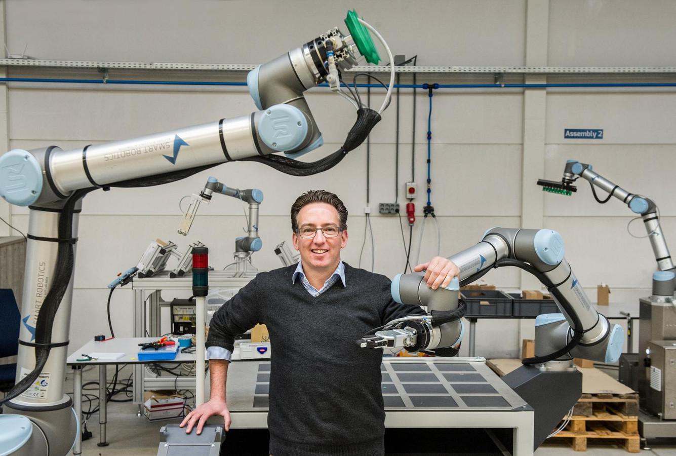 Mark Menting van Smart Robotics uit Best