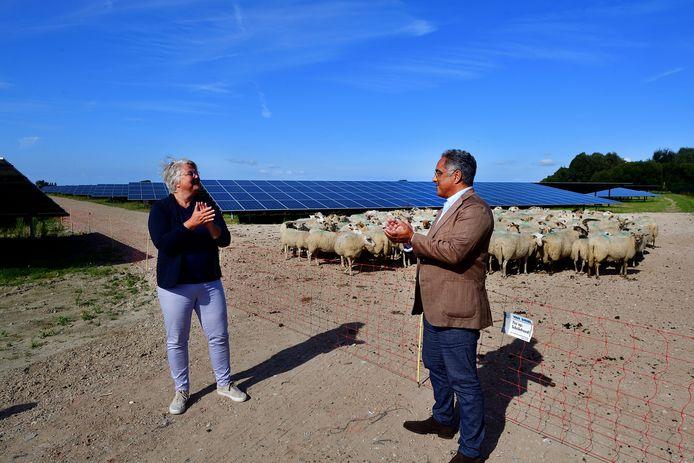 Vorige maand werd het zonnepark aan de Evertkreekweg officieel geopend. Het is gelijk het grootste zonnepark van de gemeente Roosendaal.