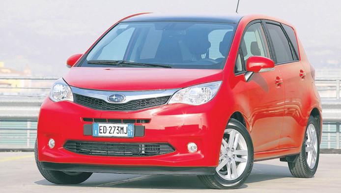 Subaru Trezia 1.3i vanaf €15.975