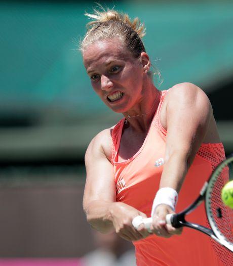 Nederlands tennissucces: Richel Hogenkamp wint toernooi in Johannesburg