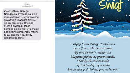 Van lef gesproken: inbreker steelt laptop en stuurt slachtoffer later kerstwensen in het Pools