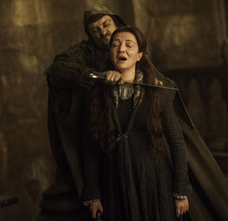 Game of Thrones, Red Wedding. Beeld HBO