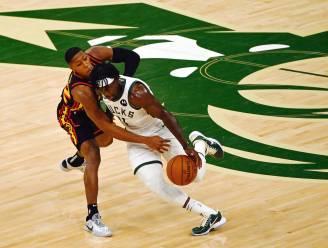 Bucks winnen derde keer tegen Hawks en staan op zucht van NBA-finale tegen Suns