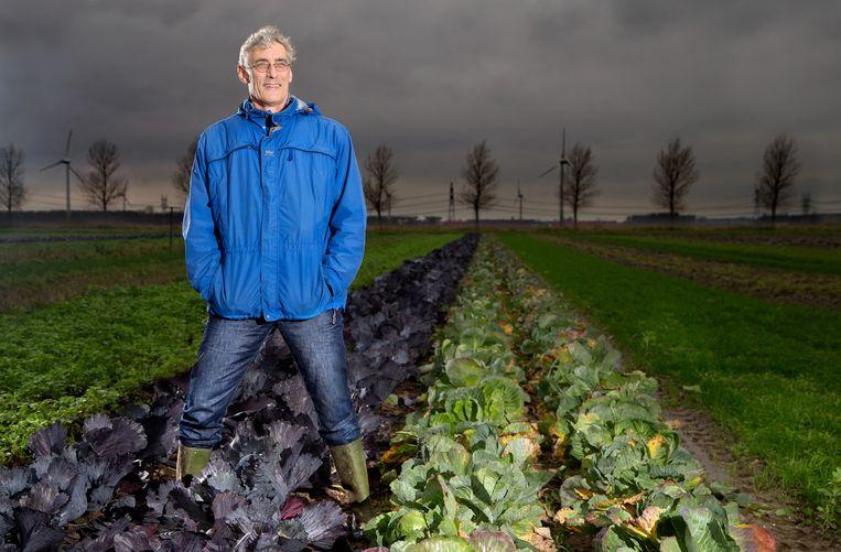 Wijnand Sukkel van Wageningen Universiteit, de projectleider van de boerderij van de toekomst.  Beeld Gerard-Jan Vlekke