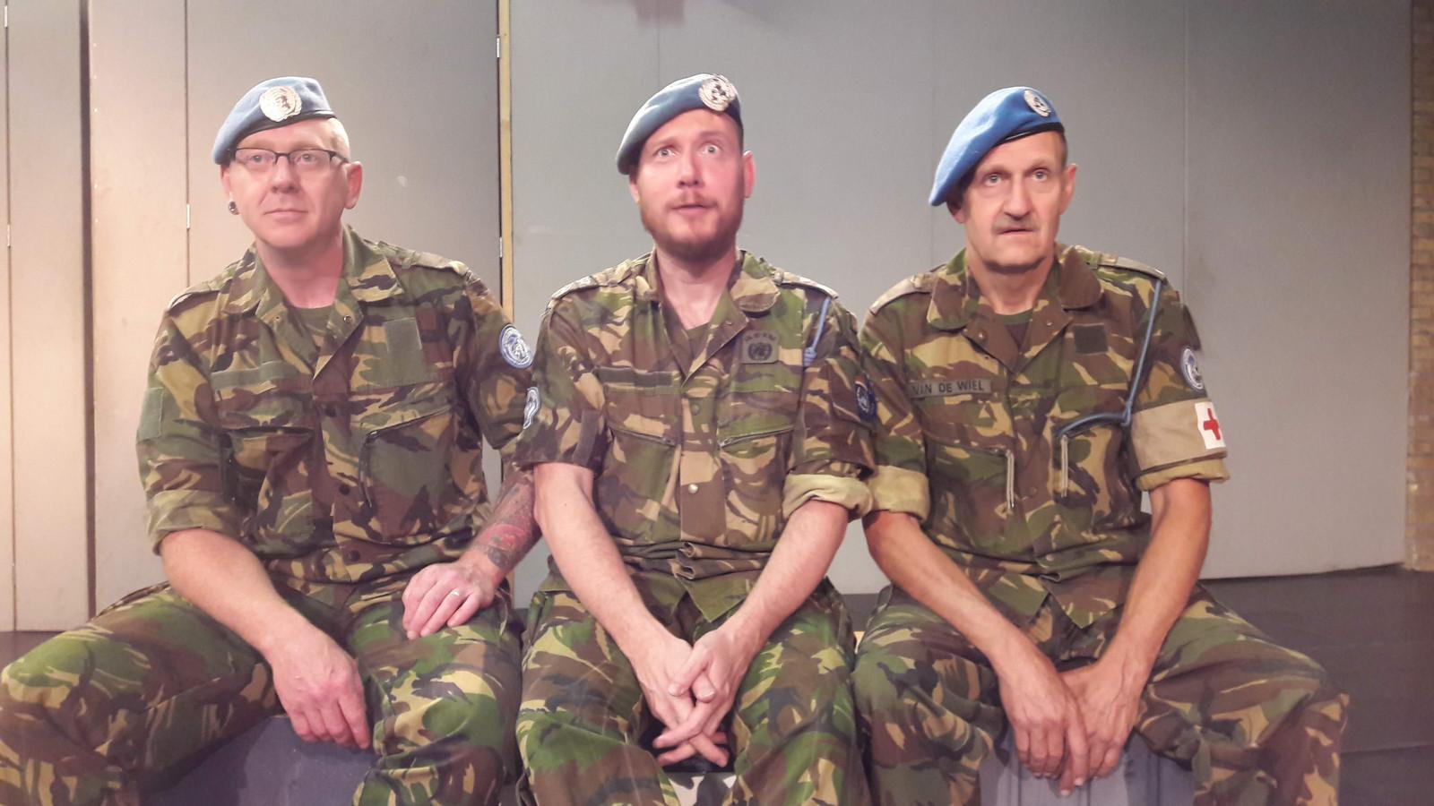 Van links naar rechts: Raymond Braat, Stephan Mertens en Antoon van de Wiel.