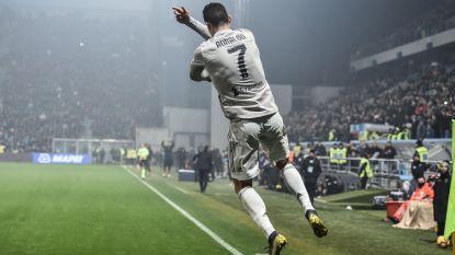 Cristiano Ronaldo kopt 18de goal in Serie A binnen - Benito Raman scoort de 3-0 tegen Stuttgart